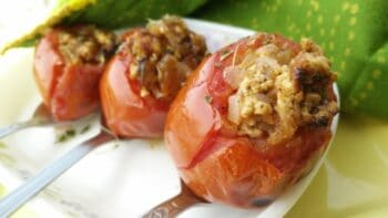 Stuffed Tomatoes - Plattershare - Recipes, Food Stories And Food Enthusiasts