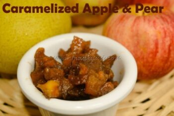Caramelized Fruits With Go Organic India - Organic Coconut Sugar - Plattershare - Recipes, Food Stories And Food Enthusiasts