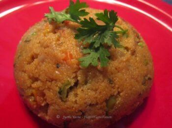 Masala Upma - Plattershare - Recipes, Food Stories And Food Enthusiasts