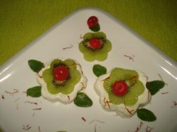 Kiwifruit Sandesh. - Plattershare - Recipes, Food Stories And Food Enthusiasts
