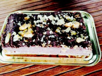 Tofu-Choco Mud Pie (Guilt Free Eating) - Plattershare - Recipes, Food Stories And Food Enthusiasts