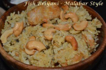 Fish Briyani Â???? Malabar Style - Plattershare - Recipes, Food Stories And Food Enthusiasts