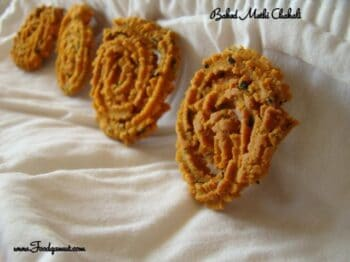 Baked Methi Chakali - Plattershare - Recipes, Food Stories And Food Enthusiasts