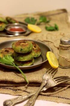 Hara-Bhara Kebab - Plattershare - Recipes, Food Stories And Food Enthusiasts