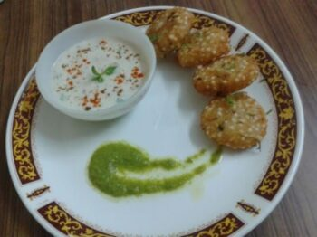 Sabudana Tikki / Sago Vada - Plattershare - Recipes, Food Stories And Food Enthusiasts