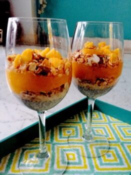 Mango Chia Parfait - Plattershare - Recipes, Food Stories And Food Enthusiasts