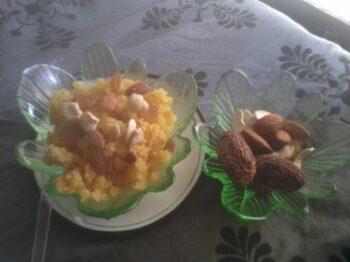 Moong Dal Sheera - Plattershare - Recipes, Food Stories And Food Enthusiasts