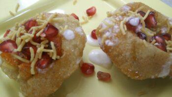 Raj Kachori Indian Chaat/Snack) Recipe - Plattershare - Recipes, Food Stories And Food Enthusiasts