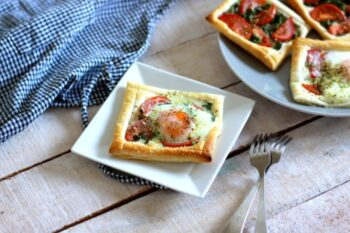 Puff Pastry Tarts - Plattershare - Recipes, Food Stories And Food Enthusiasts