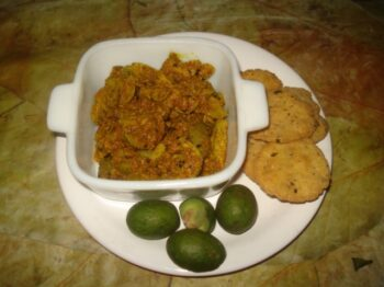 Green Olives Pickle - Plattershare - Recipes, Food Stories And Food Enthusiasts