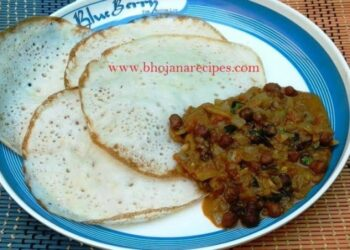 Kadala Curry (Black Chickpeas Spicy Gravy) - Plattershare - Recipes, Food Stories And Food Enthusiasts