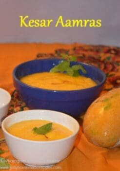 Kesar Aamras Recipe - Plattershare - Recipes, Food Stories And Food Enthusiasts