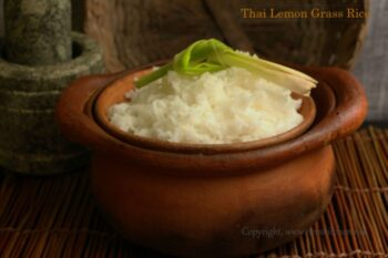 Thai Lemongrass Rice - Plattershare - Recipes, Food Stories And Food Enthusiasts