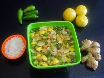 Neer Elumichangai (Oil-Free Lemon Pickle) - Plattershare - Recipes, Food Stories And Food Enthusiasts