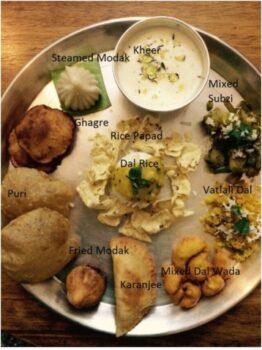 Mix Subzi - Lord Ganesha Naivedhya (Saatvik) - Plattershare - Recipes, Food Stories And Food Enthusiasts