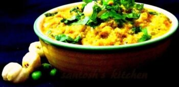 Lajbab Khoya Curry With Makhana &Amp; Peas - Plattershare - Recipes, Food Stories And Food Enthusiasts
