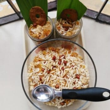 Jhalmoorii (Puffed Rice) - Plattershare - Recipes, Food Stories And Food Enthusiasts