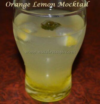 Orange Lemon Mocktail - Plattershare - Recipes, Food Stories And Food Enthusiasts