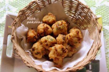 Rice Pakora - Plattershare - Recipes, Food Stories And Food Enthusiasts