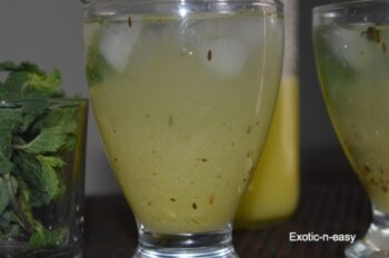 Raw Mango Chiller - Plattershare - Recipes, Food Stories And Food Enthusiasts