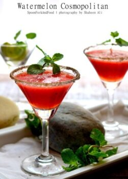Watermelon Cosmopolitan - Plattershare - Recipes, Food Stories And Food Enthusiasts