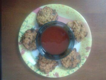 Moong Dal Wade (Pakode) - Plattershare - Recipes, Food Stories And Food Enthusiasts