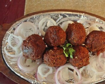 Nawabi Mutton Goli - Plattershare - Recipes, Food Stories And Food Enthusiasts