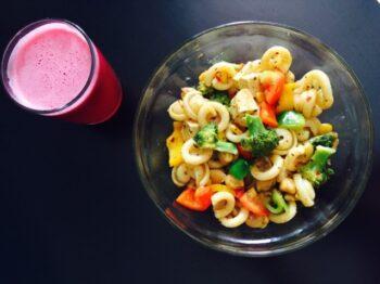 Sahur Special Tofu &Amp; Dischi Pasta Salad - Plattershare - Recipes, Food Stories And Food Enthusiasts