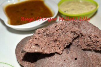 Ragi (Finger Millet) Idly - Plattershare - Recipes, Food Stories And Food Enthusiasts