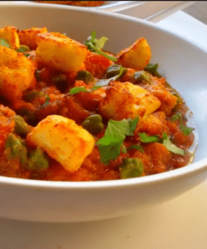 Green Garbanzo Paneer - Plattershare - Recipes, Food Stories And Food Enthusiasts