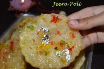 Jeera Poli - Plattershare - Recipes, Food Stories And Food Enthusiasts