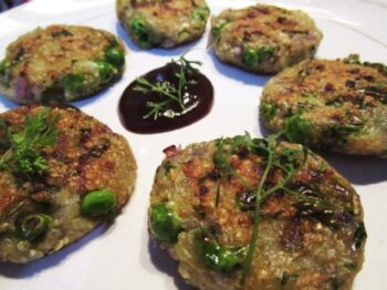 Quinoa Aloo Tikki - Plattershare - Recipes, Food Stories And Food Enthusiasts