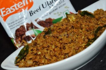 Minced Meat With Eastern Condiments Â???? Beef Ularthu Masala - Plattershare - Recipes, Food Stories And Food Enthusiasts