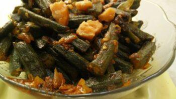 Khatti- Meethi Bhindi (Lady Finger/ Okra) Recipe - Plattershare - Recipes, Food Stories And Food Enthusiasts