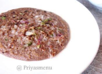 Ragi Sevai Uthapam - Plattershare - Recipes, Food Stories And Food Enthusiasts