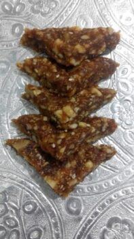 Figs (Anjeer) &Amp; Dry Fruits Burfi - Plattershare - Recipes, Food Stories And Food Enthusiasts