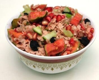Indian Salad Tossed With Apple Cider Vinegar - Plattershare - Recipes, Food Stories And Food Enthusiasts