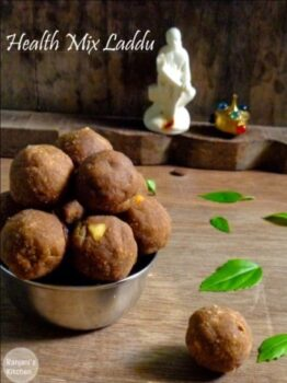 Healthmix Laddu - Plattershare - Recipes, Food Stories And Food Enthusiasts