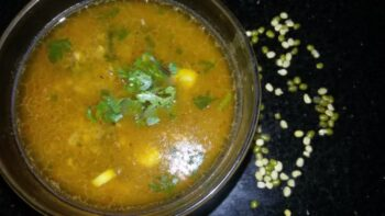 Green Moong Dal! - Plattershare - Recipes, Food Stories And Food Enthusiasts