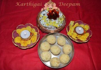 Roasted Gram Ladoo / Pottukadalai Urundai - Plattershare - Recipes, Food Stories And Food Enthusiasts