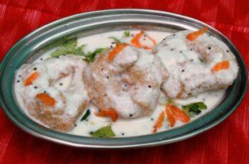 Thayir Vadai / Dahi Vada - Plattershare - Recipes, Food Stories And Food Enthusiasts