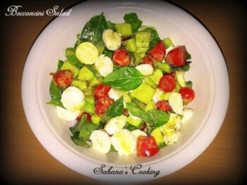 Bocconcini Salad - Plattershare - Recipes, Food Stories And Food Enthusiasts
