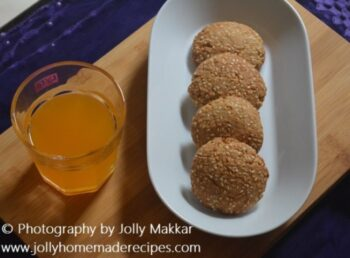 Toasted Sesame Barley Cookies - Plattershare - Recipes, Food Stories And Food Enthusiasts