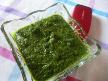 Green Chutney - Plattershare - Recipes, Food Stories And Food Enthusiasts