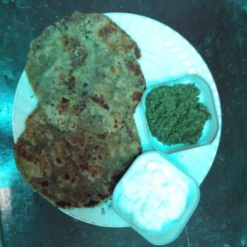 Half Dust Masala Parantha - Plattershare - Recipes, Food Stories And Food Enthusiasts