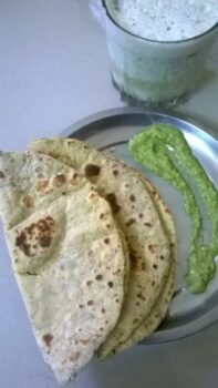 Moong Dal Masala Roti [ Gluten Free ] - Plattershare - Recipes, Food Stories And Food Enthusiasts
