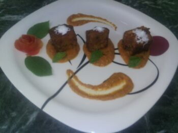 Egg Plant Parmesan With Makhani Gravy - Plattershare - Recipes, Food Stories And Food Enthusiasts