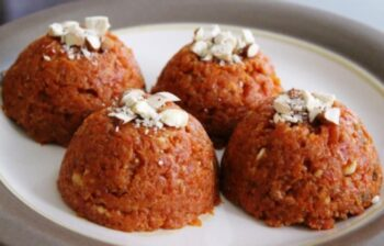 Carrot Pudding (Gajar Ka Halwa) - Plattershare - Recipes, Food Stories And Food Enthusiasts
