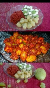 Aam Angoor Aachar - Plattershare - Recipes, Food Stories And Food Enthusiasts