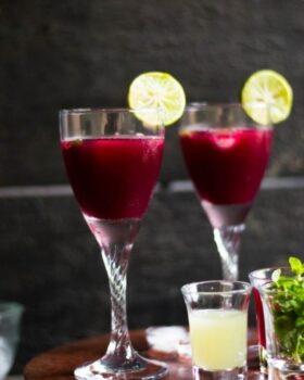 Pomegranate Lemonade - Plattershare - Recipes, Food Stories And Food Enthusiasts